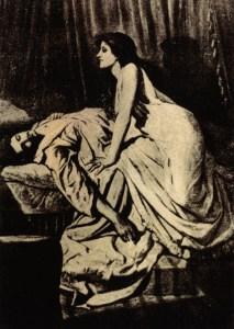 The Vampire by Philip Burne-Jones